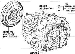 Автоматическая коробка переключения передач. Lexus ES350, GSV40 Lexus RX270, GGL10, GGL16, GGL15 Lexus RX350, GGL15W, GGL16W, GGL25, GGL10W, GGL15, GG...
