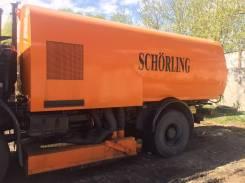 Bucher. Вакуумная подметально-уборочная машина -Schorling, 11 000куб. см.