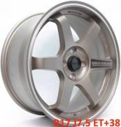RAYS VOLK RACING TE37. 7.5x17, 4x100.00, ET38, ЦО 73,1мм.