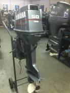Yamaha. 50,00л.с., 2х тактный, бензин, нога L (508 мм), Год: 2012 год