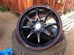 Колеса R15 Toyota Ist Allion Caldina + 195/65 R15 Dunlop. 6.0x15 5x100.00 ET39 ЦО 67,0мм.
