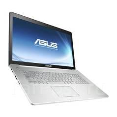 """Asus N750JV-T4008H. 17.3"""", 2 400,0ГГц, ОЗУ 8192 МБ и больше, диск 2 000 Гб, WiFi, Bluetooth, аккумулятор на 2 ч."""