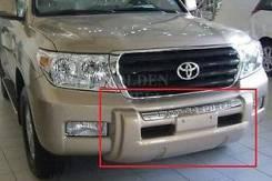 Накладка на бампер. Toyota Land Cruiser, UZJ200W, VDJ200, J200, URJ202W, GRJ200, URJ200, URJ202, UZJ200