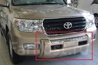 Накладка на бампер. Toyota Land Cruiser, GRJ200, J200, URJ200, URJ202, URJ202W, UZJ200, UZJ200W, VDJ200