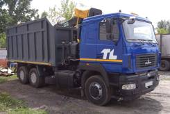 МАЗ 6312. Ломовоз B5-8429-012 с КМУ Майман 110S, 11 120 куб. см., 22 750 кг.
