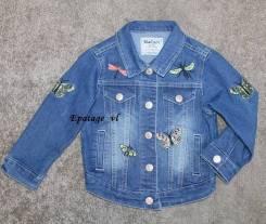 Куртки джинсовые. Рост: 104-110, 110-116, 116-122, 122-128 см