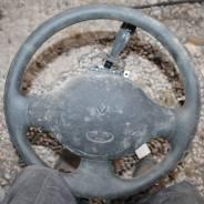 Рулевое колесо Renault Logan пластик БЕЗ airbag 8200170149 6001550990. Renault Logan Двигатели: D4D, K7M, D4F, K7J, K9K, K4M