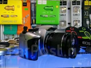 Canon EOS 350D Kit. 8 - 8.9 Мп, зум: без зума