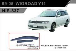 Ветровик на дверь. Nissan Wingroad, WFY11, WHY11, VENY11, VHNY11, VGY11, WPY11, VY11, WRY11, VFY11, VEY11, WHNY11, WFNY11 Nissan AD, VHNY11, VFY11, WP...