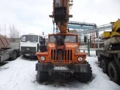Урал 5557. Автомобиль УРАЛ-5557-10 КС-35714 (Автокран), 11 150 куб. см., 16 000 кг.