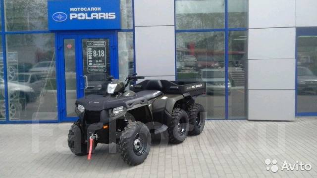 Polaris Sportsman Big Boss 6x6 800. исправен, есть птс, без пробега