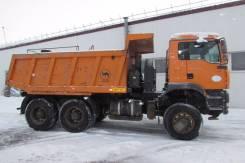 MAN TGA. Автомобиль 40.410 6X6 BB-WW (Самосвал), 12 000 куб. см., 25 000 кг.