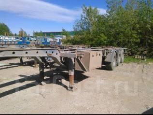 Krone SD. Контейнеровоз площадка Крона 2007г. 3-х осная.40 футов, 41 800 кг.