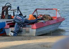 Крым-М. длина 4,20м., двигатель подвесной, 28,00л.с., бензин
