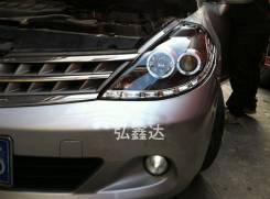 Фары (Тюнинг Комплект) Nissan Tiida (C11) 2008-2011.