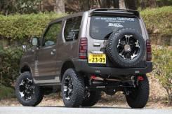 Крепление запасного колеса. Suzuki Jimny, JB33W, JB23W, JB43W