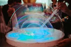 Раствор для шоу мыльных пузырей