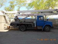 ЗИЛ АГП-22.04. Продаётся автогидроподьёмник АГП 22.04 на шасси ЗИЛ 433362, 6 000 куб. см., 22 м.