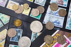 Куплю марки, монеты, старые открытки и конверты. Коллекции.