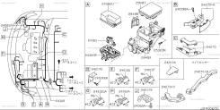 Проводка двс. Nissan Serena, C25, NC25, CNC25, CC25 Двигатель MR20DE