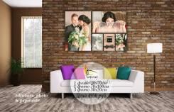 Фото на холсте, наборы картин для Вашего интерьера!