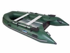 Лодка ПВХ Gladiator B370AL Алюминиевый пайол Зеленая. Год: 2017 год, длина 3,70м., двигатель подвесной, 30,00л.с., бензин