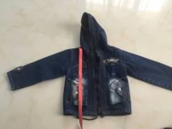 Куртки джинсовые. Рост: 86-92, 92-98, 98-104 см