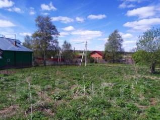 Участок для ПМЖ 15 сот. в жилой деревне, в ближнем Подмосковье. 1 500 кв.м., собственность, электричество, вода, от частного лица (собственник)