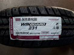Nexen Winguard 231. Зимние, без шипов, 2014 год, без износа, 1 шт