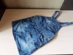 Сарафаны джинсовые. Рост: 116-122 см