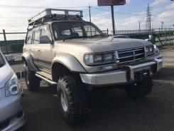 Расширитель крыла. Toyota Land Cruiser, FZJ80
