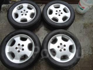 Литье Toyota с резиной Bridgestone 225/60/R17. 6.5x17 5x114.30 ET35