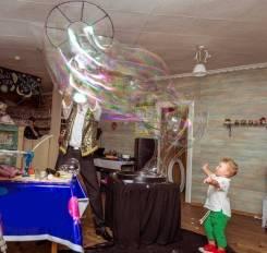 Шоу Мыльных Пузырей / Химическое шоу / Крио шоу / на детский праздник