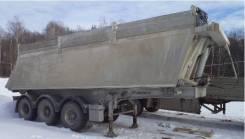 Menci. Продается самосвальный полуприцеп алюминиевый, 37 000 кг.