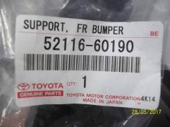Крепление бампера. Lexus LX570, URJ201W, URJ201 Двигатель 3URFE