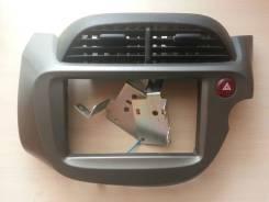 Рамка магнитолы, крепление, кит для установки 1/2din Fit GE6.7.8.9. Honda Fit, GE7, GE6, DBA-GE7, DBA-GE6, DBA-GE9, DBA-GE8, GE9, GE8, DBAGE6, DBAGE7...