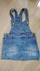 Сарафаны джинсовые. Рост: 86-92, 92-98 см