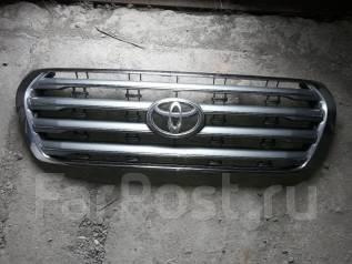 Решетка радиатора. Toyota Land Cruiser, URJ200, URJ202, URJ202W, UZJ200, UZJ200W, VDJ200 Двигатели: 1URFE, 1VDFTV, 2UZFE, 3URFE
