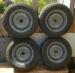 Продам 4 колеса зимней резины. x13 4x98.00