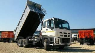 Isuzu Giga. Самосвал Isuzu GIGA 6*4, 15 585 куб. см., 18 500 кг.