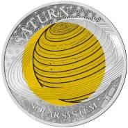Палау 2 доллара 2017 Сатурн Серия 'Солнечная система' Космос