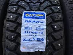 Maxtrek Trek M900. Зимние, шипованные, 2015 год, без износа, 2 шт