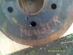 Диск тормозной. Toyota Highlander, MCU20, MHU28, ACU20, MCU23, MHU23, ACU25, MCU28, MCU25 Toyota Kluger V, MCU20, ACU20, MHU28, ACU25, MCU25 Toyota Ha...