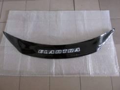 Дефлектор капота. Hyundai Elantra, MD Двигатели: G4NBB, G4FG