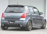 Спойлер на Suzuki Swift 04-10г
