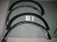Расширители колёсных арок фендера MITSUBISHI TRITON L200 Черные