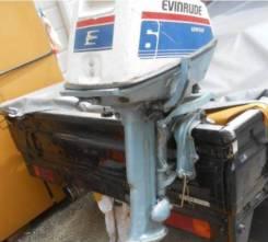 Evinrude. 6,00л.с., 2-тактный, бензиновый, нога S (381 мм), Год: 2001 год