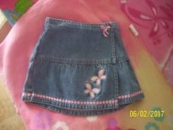 Юбки джинсовые. Рост: 80-86, 86-98 см