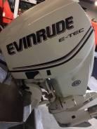 Evinrude. 115,00л.с., 2х тактный, бензин, нога L (508 мм), Год: 2013 год