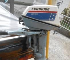 Evinrude. 6,00л.с., 2х тактный, бензин